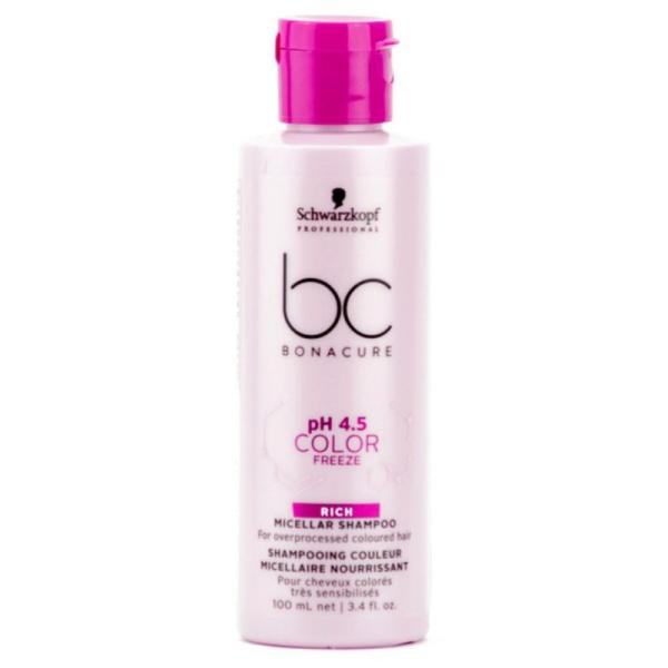 Schwarzkopf BC Color Freeze Rich Micellar Shampoo 100ml